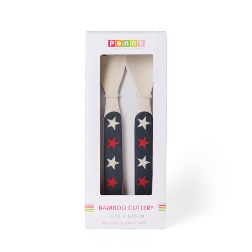 couverts bambou penny scallan navy star packaging