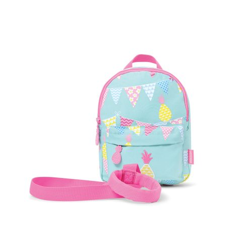 mini backpack_front_with strap_pineapple