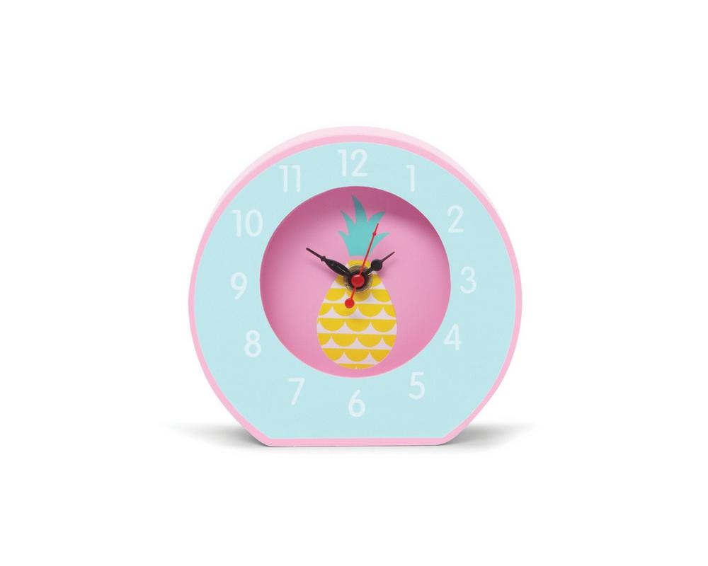 horloge de chevet penny scallan pineapple bunting