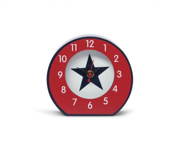 Horloge de chevet Penny Scallan Navy Star