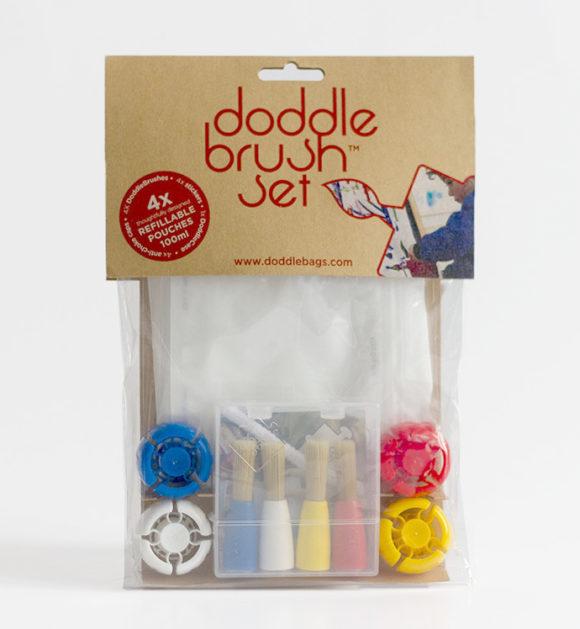 Doddle Brush set peinture et loisirs créatifs