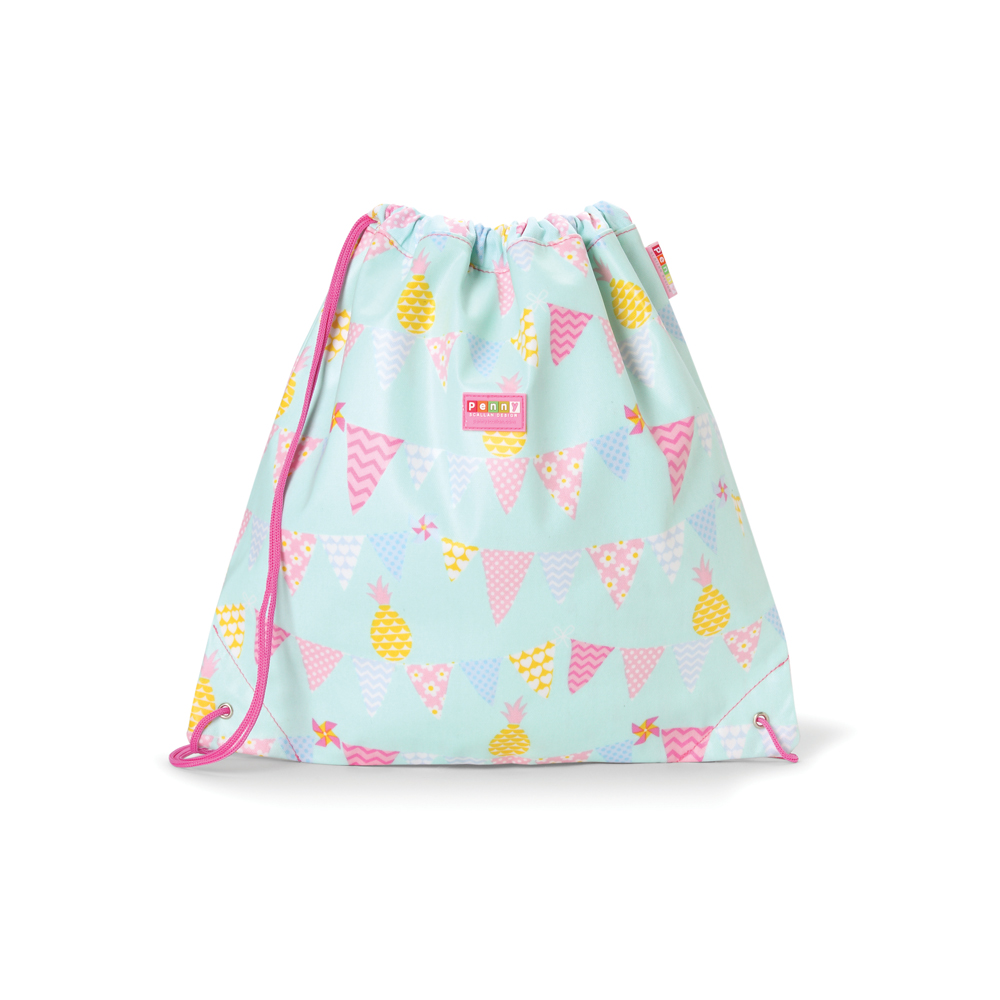 sac a dos cordons pineapple bunting