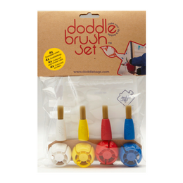 Doddle Brush Set - le pack de gourdes réutilisables et pinceaux