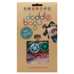 Doddle Bags Pack de 10 gourdes réutilisables