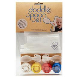 Doddle Spoon Set - le pack de gourdes réutilisables et cuillères
