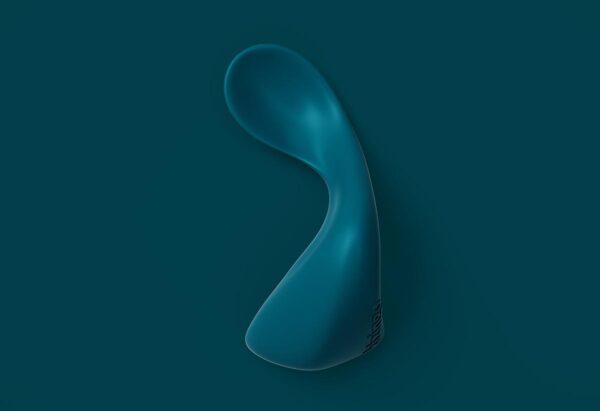 Cuillère pour droitier Kizingo bleu. A partir de 9 mois