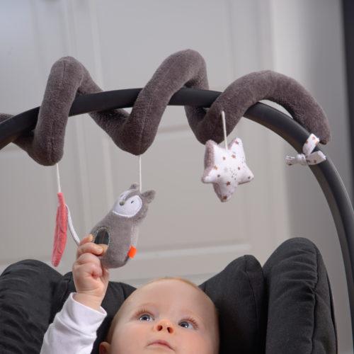 spirale d'activités bébé